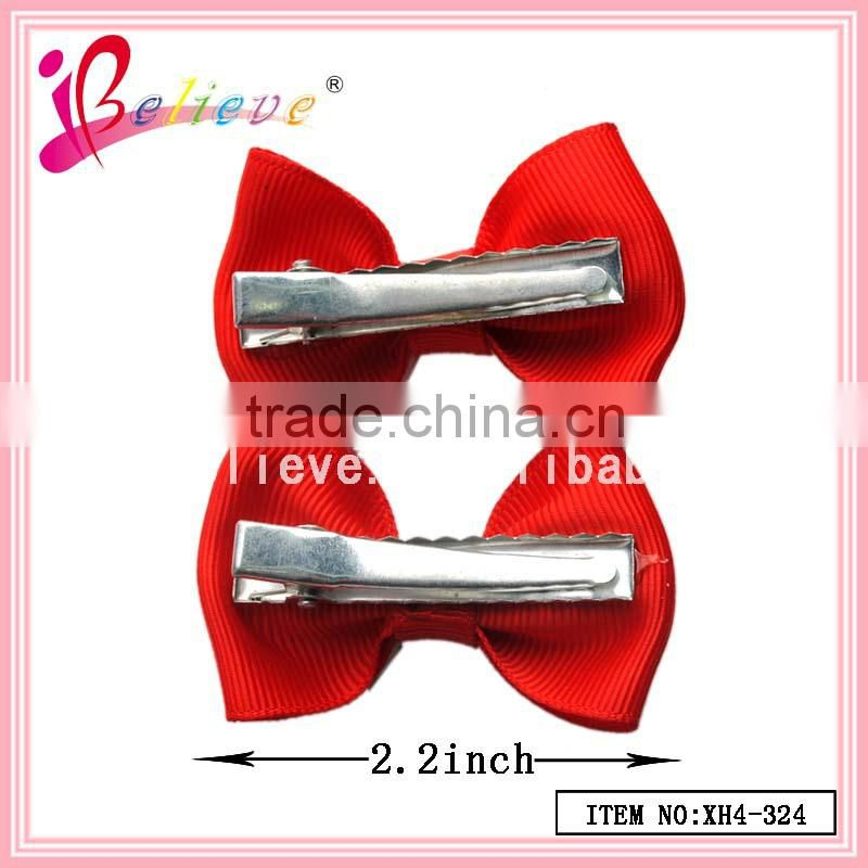 2015 fashion jewelry wholesale in Yiwu market baby hair bows,small hair bows made ribbon