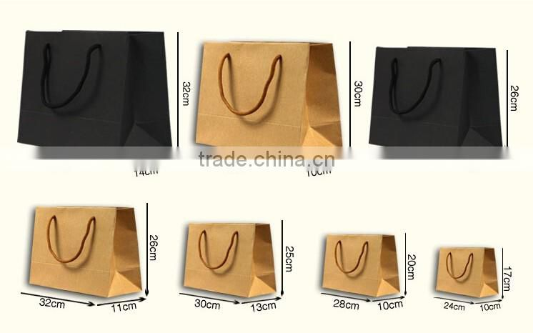 Yiwu factory wholesale custom paper bag for jewelry