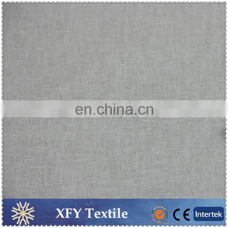 XFY wholesale dyed 70 rayon 30 linen fabric