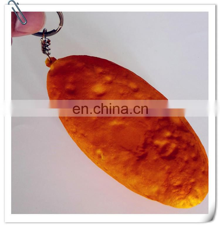 customized PU stress ball toy of promotion gift fake PU bread looks real