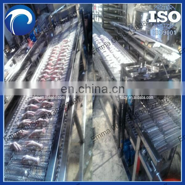 chicken feet processing plant,stainless steel automatic chicken feet cutting machine