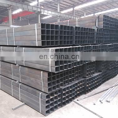 Erw mild black square steel box section en10219