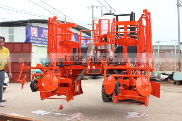 Small tractor planting sugarcane planter for big farm High quality sugarcane planting machine for sale