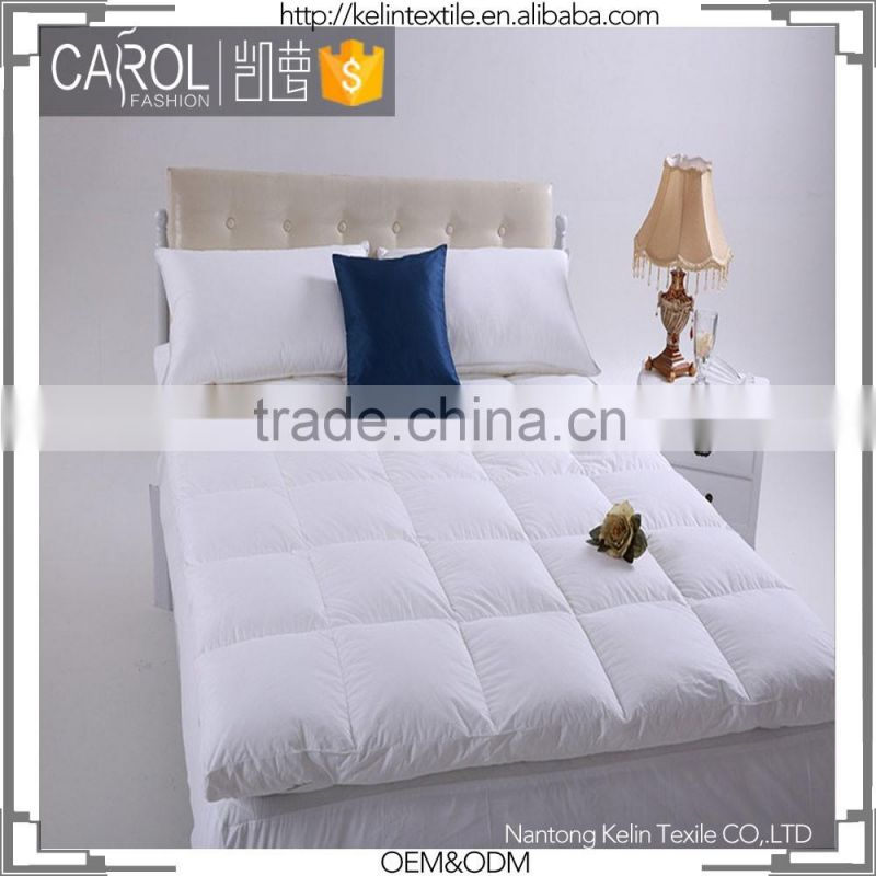 super luxury 100% cotton fabric 1000gsm mattress protector