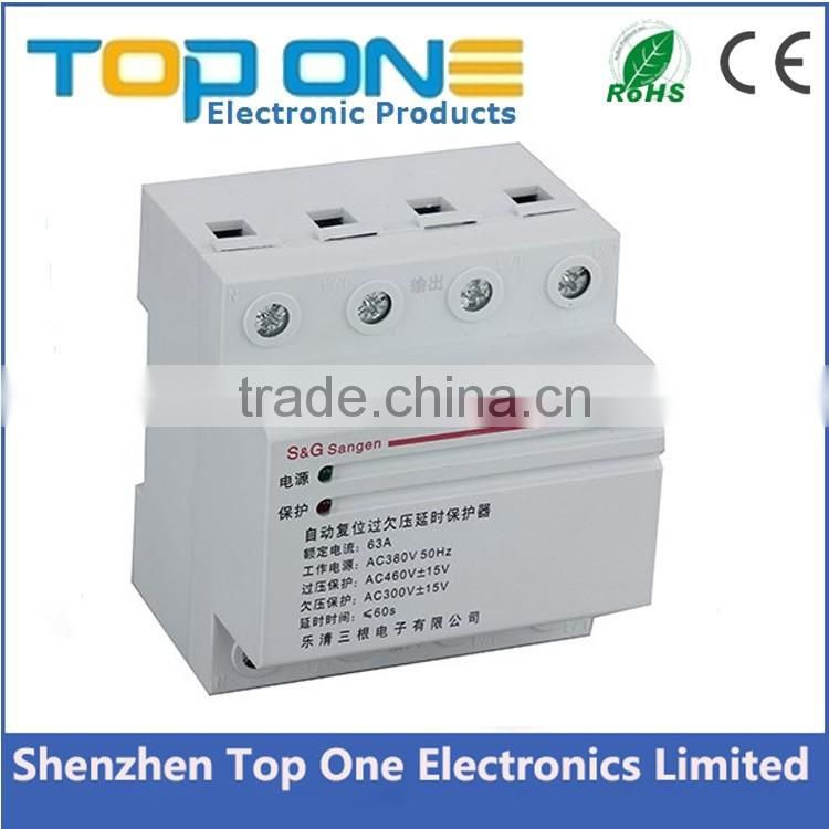 New arrival alibaba top selling under and over voltage protector with CE ROHS FCC certifications