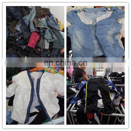 used clothing korean ruffle clothing wholesale baby branded factory seconds