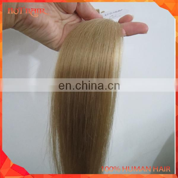 Alibaba 8A Blonde Color Indian U-Tip Human Hair Extension Virgin Wholesale Indian Cheap Straight Pre-bonded Human Hair Weaving