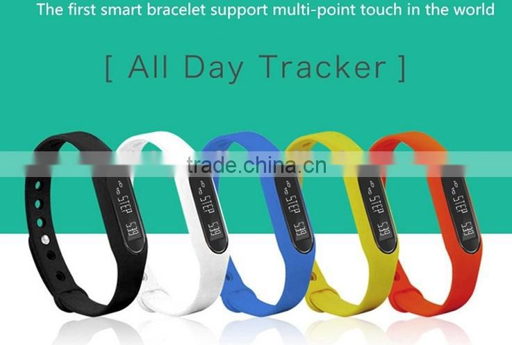 For iOS and Android Bluetooth Smart Bracelet 2015