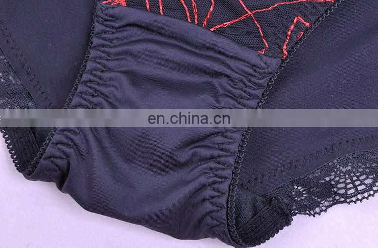 wholesale low price fancy bra panty set photo custom colors embroidery mesh padded bra and panty set