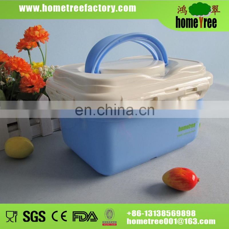 2014 hot sale clear plastic storage box 4L