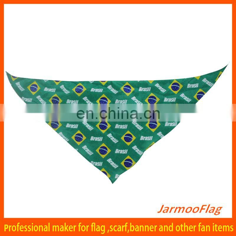 2015 polyester printed custom bandanas for cheap