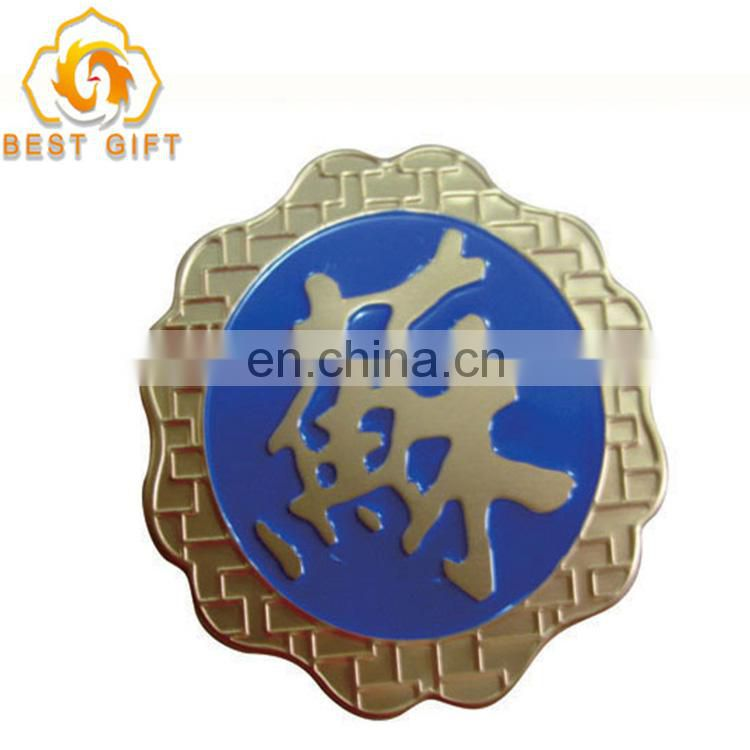 Wholesale Cheap Custom Color Zinc Alloy Animal shape button badge