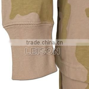 Military Pyjama with T/C or cotton with very soft and comfortable touch and high color fastness