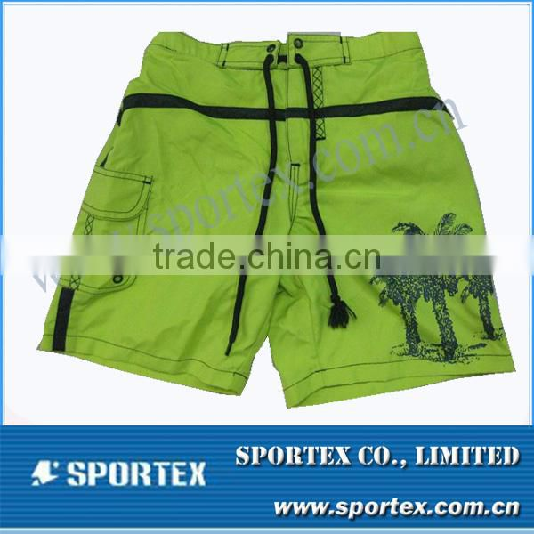 100% polyester board shorts for men with customer printing