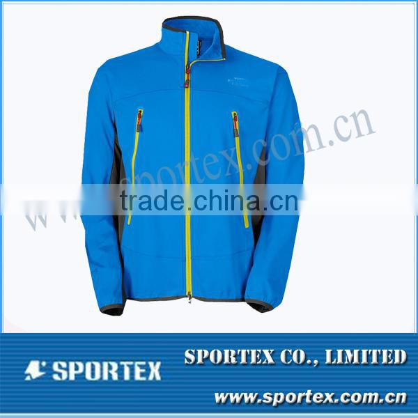 Men outdoor jacket with hoody / High quality Outdoor jacket for men