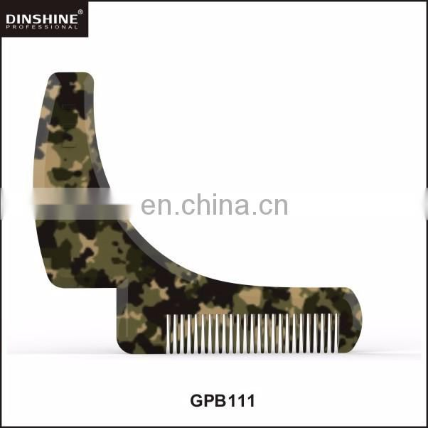 2017 high quality and customized plastic beard shaping tool