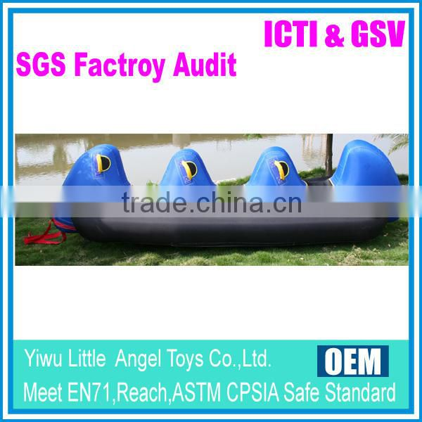 pvc material inflatable towable tube