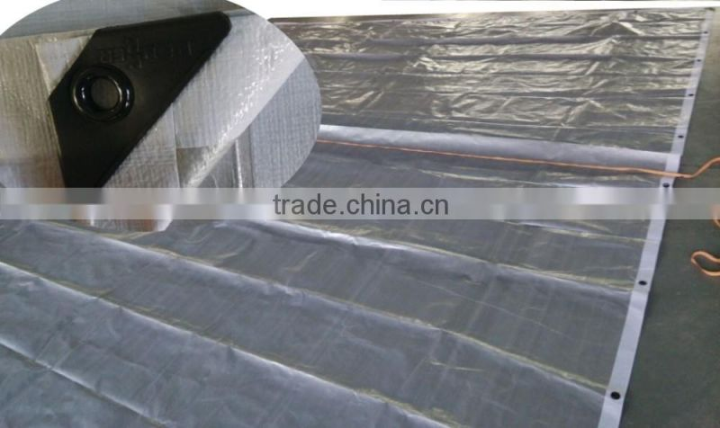 waterproof pe tarpaulin sheet for car/truck/boat cover in various size and specification