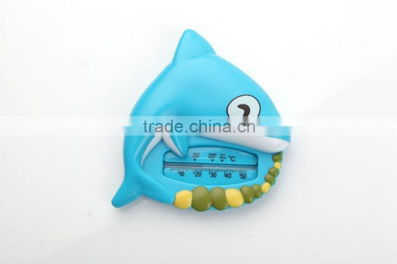 popular Cute Water Temperature Thermometer New Floating Fish Plastic Float Toy Baby Bath Tub Samrt Water Sensor Thermometer