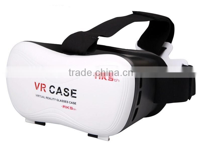 2016 New Design hot sale universal mobile phone case 3d virtual reality glasses