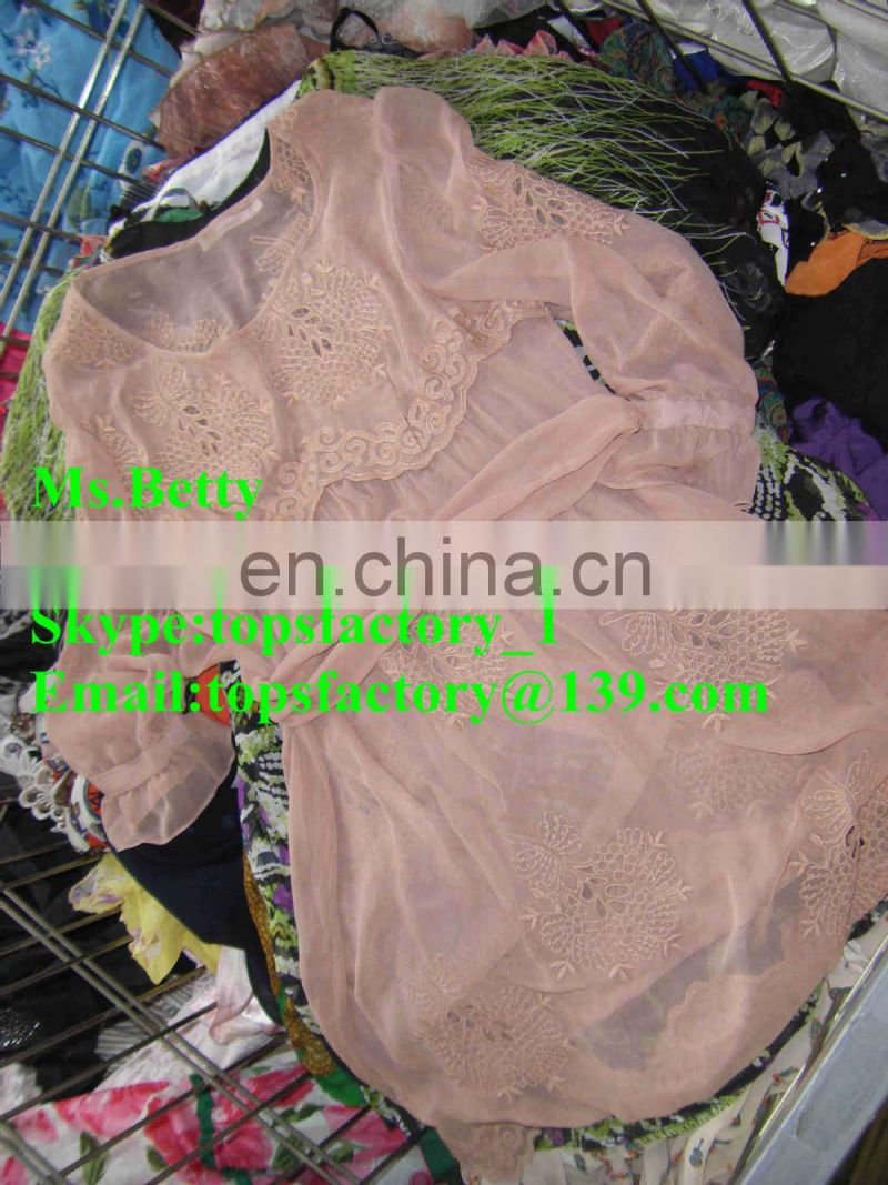 Top quality fashion wholesale brand name used clothing