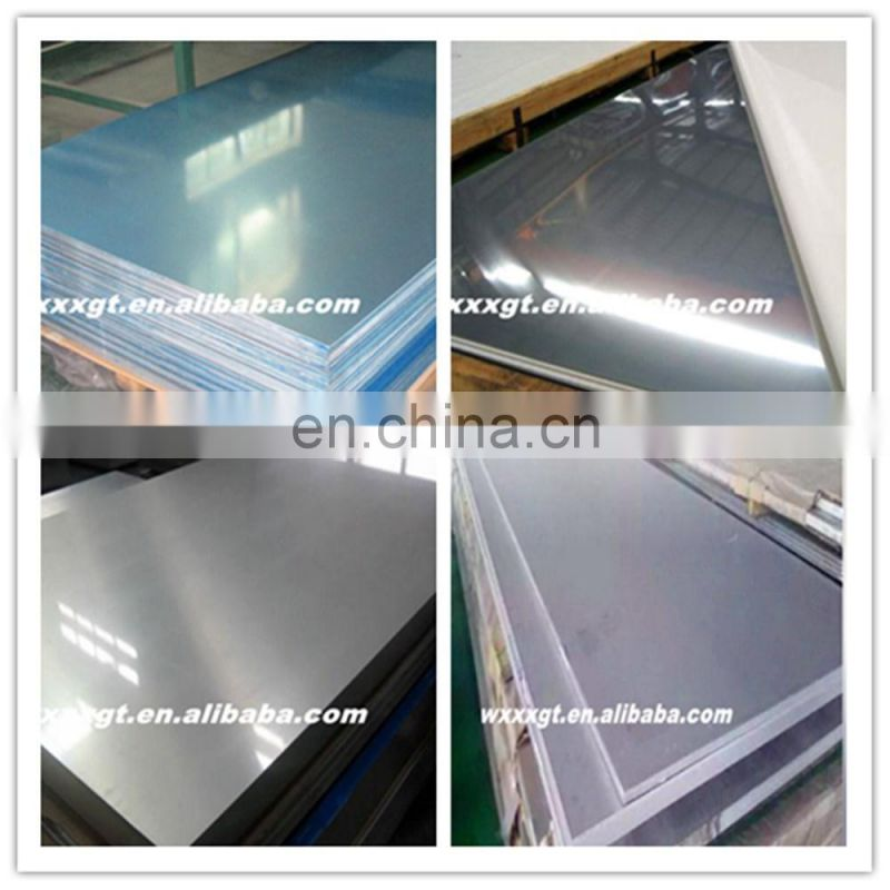201 316l 8k mirror surface stainless steel sheet made in China