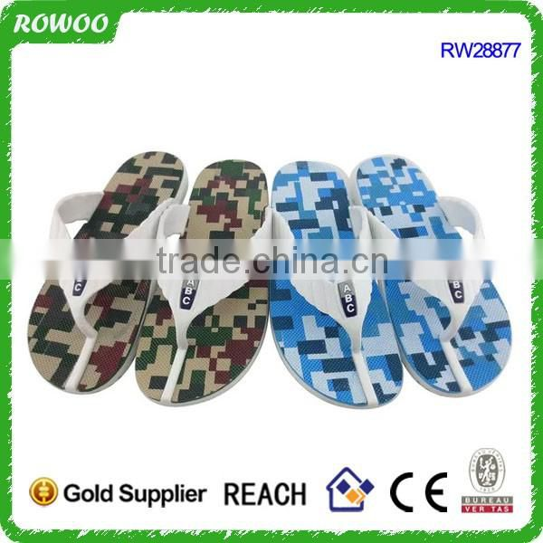 Fashion Men summer PVC Flip Flops supplier in China