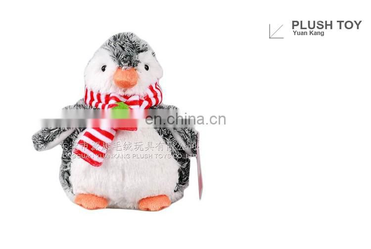ICTI factory plush penguin stuffed toy