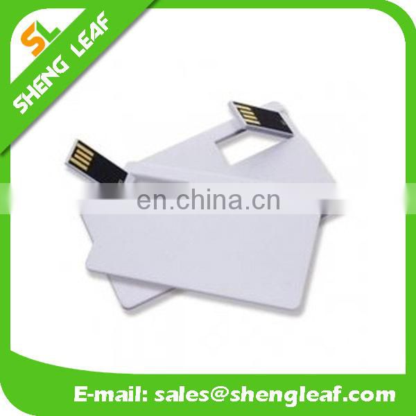 Factory promotion price usb flash drive credit card