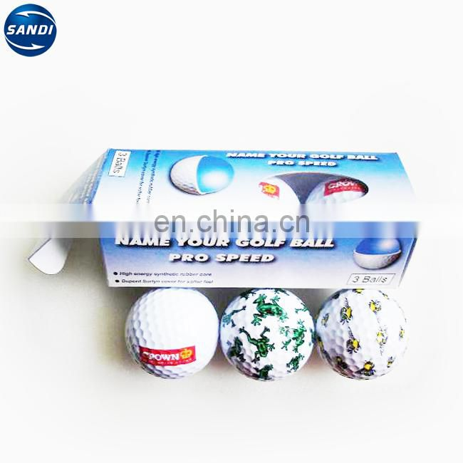 colorful high quality golf ball wholesale