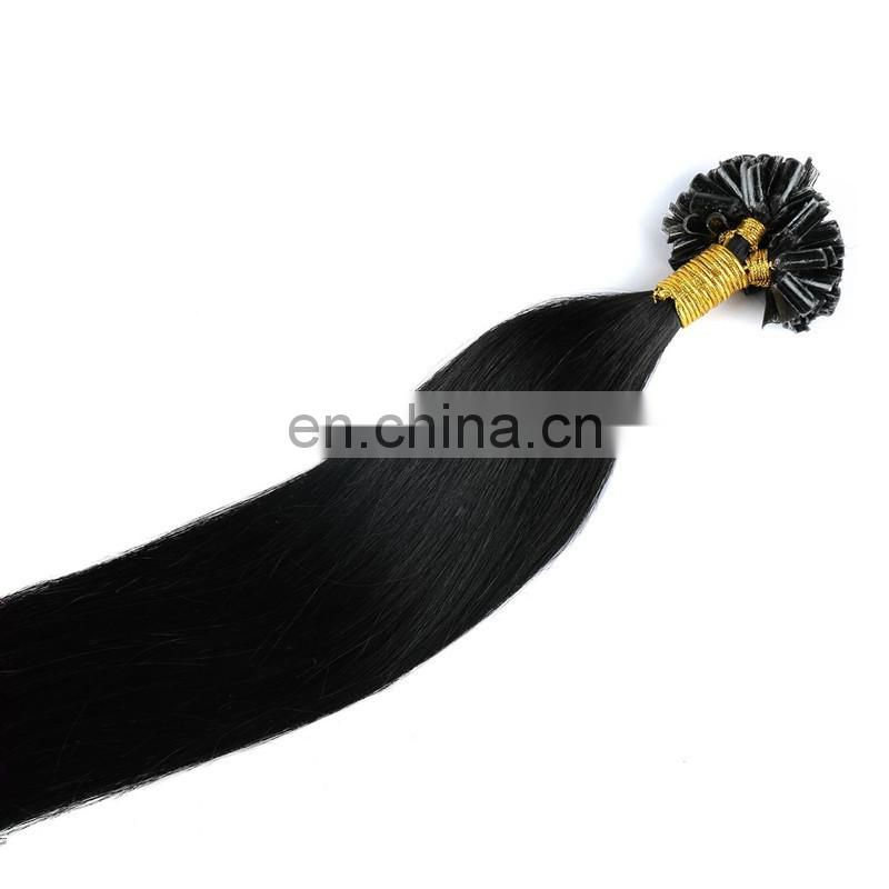 china.cn hot selling U tip hair factory direct wholesale human hair Indian pre-bonded hair