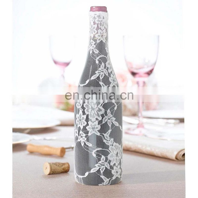 Lace Wine Bottle Bag For Wedding Centrepiece Reception Decoration Supplies