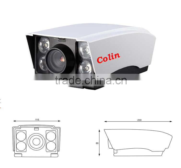 Colin new gadgets 2015 outdoor waterproof 800tvl white light camera system