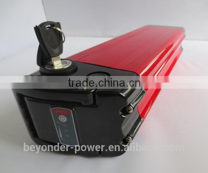 Polymer lithium battery (24V 36V 48V), rechargeable lithium battery pack capacity and size can be customized