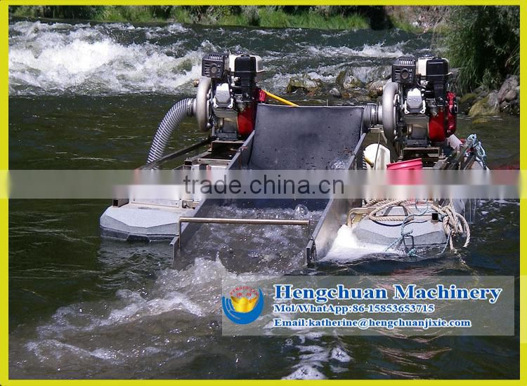 River Gold Mining Dredge Boat for sale