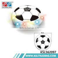 Kids play game electric lights plastic air hover football wholesale