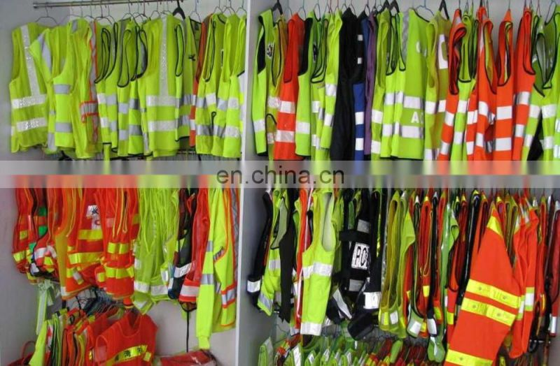 2017 Hhigh visibility reflective safety vest EN ISO20471