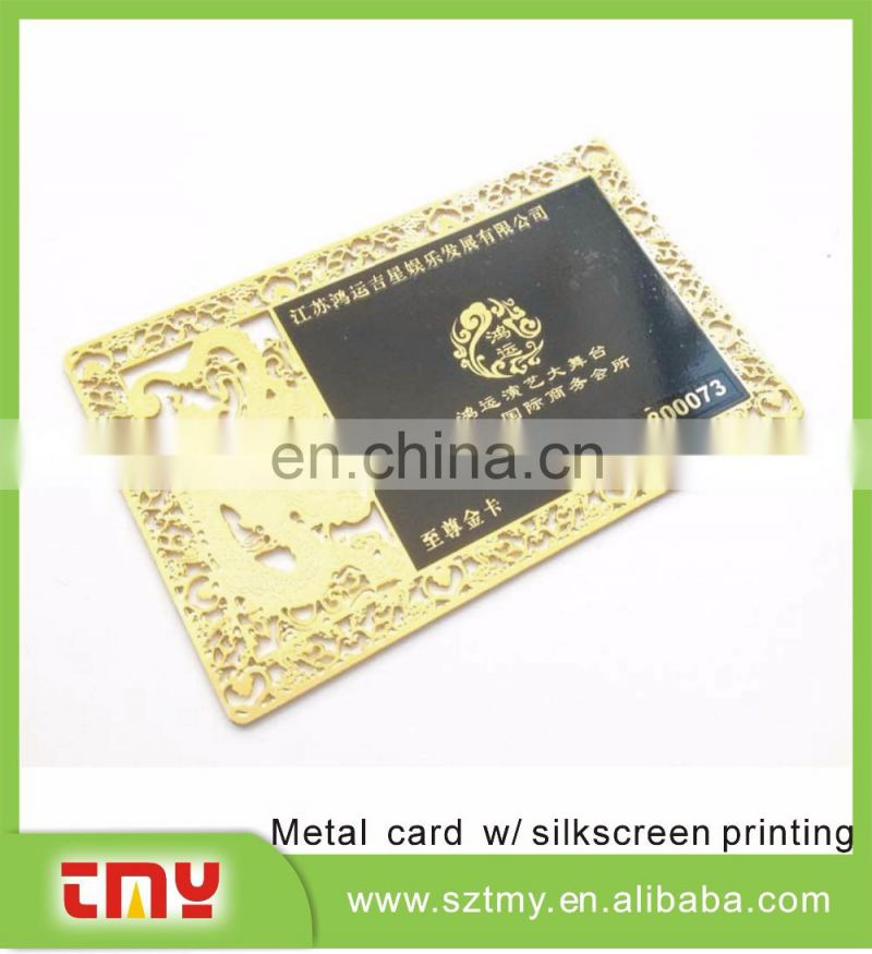 304 Stainless Steel metal card