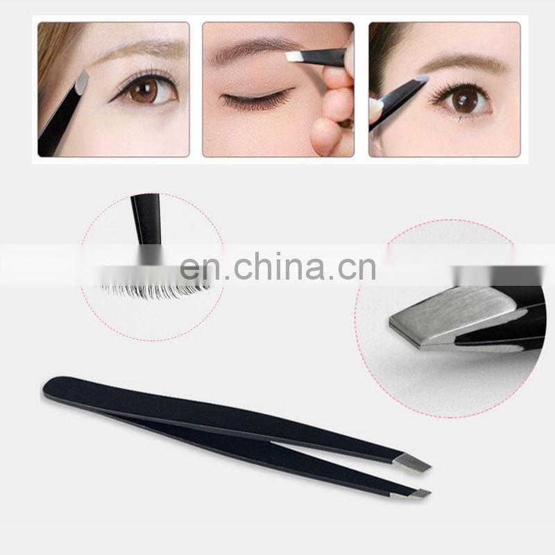 Professional Stainless Steel Tweezers Eyebrow Tweezers Eyebrow Clip