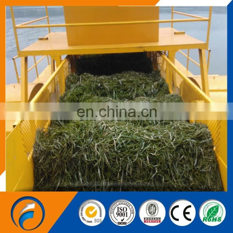 Multi-function DFGC-150 Aquatic Weed Harvester Water Hyacinth River  Cleaning Ship&Harvester Boat&Weed Harvester Ship