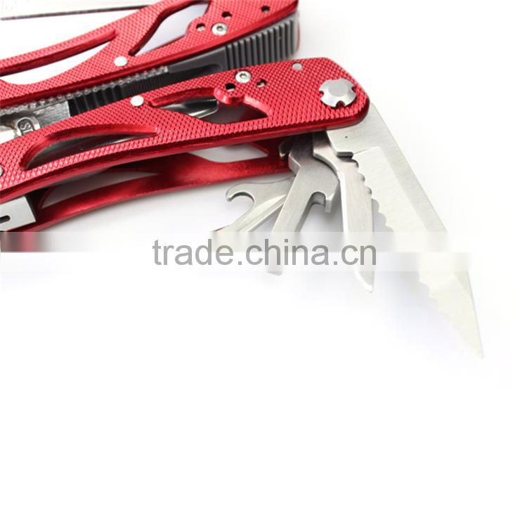 Safety and handy aluminium multi-functional plier