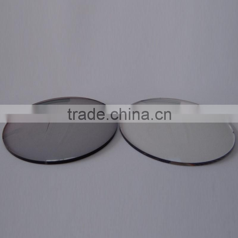 HC, HMC brown /grey myopia lens 1.56 photochromic for eyeglasses