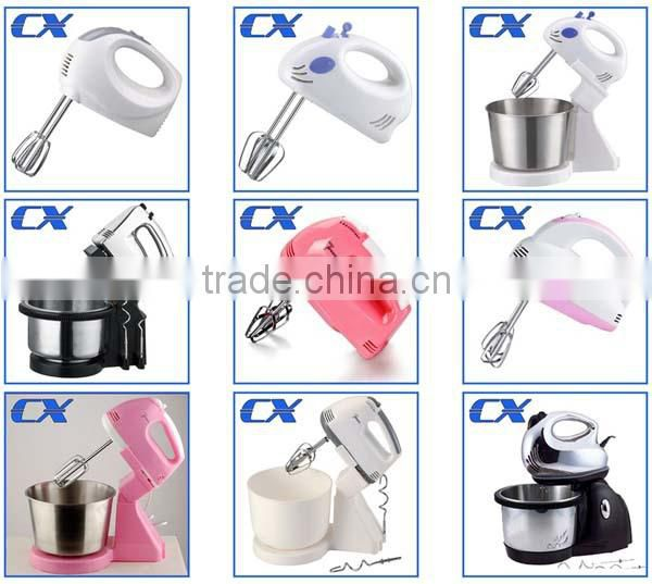 Kitchen 5 Speeds Stainless Steel Hand Mixer Egg Beater