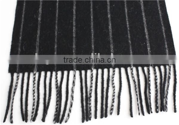 Fashion Knit Joint wool scarf with fringe