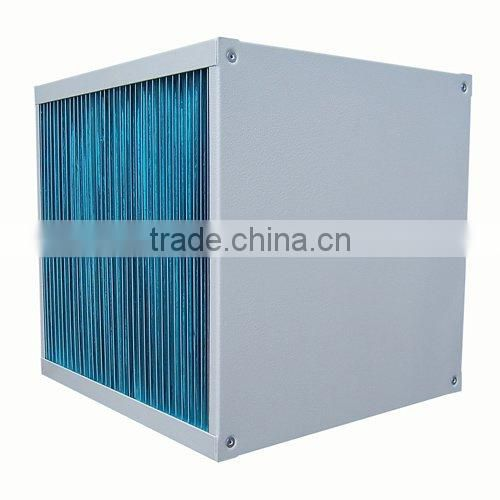 heat exchanger core for air to air plate heat exchanger