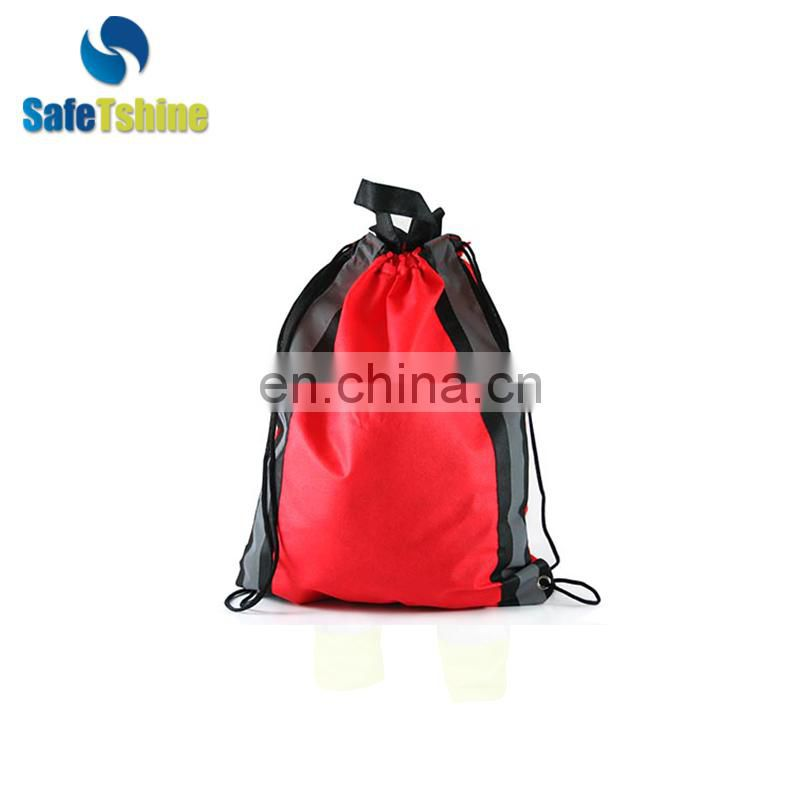 good-looking safety reflective pouch small bag drawstring
