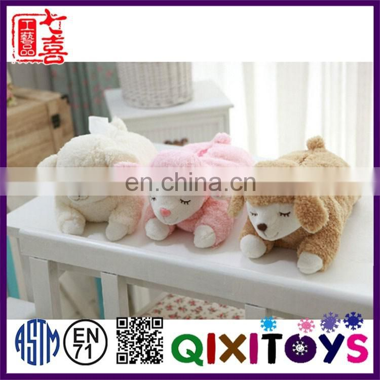 Hot sale factory direct custom printed animal shaped tissue box holders decoration wholesale