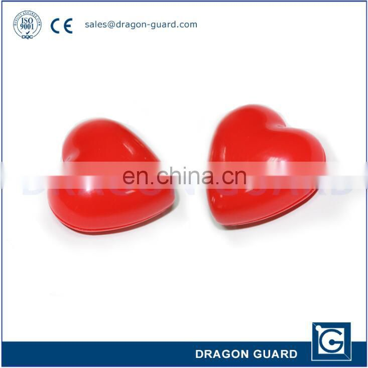 EAS Deactivate Supermarket retail security tag with red heart pattern (CE/ISO)