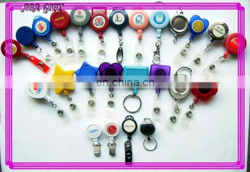 badge reels retractable steel cord