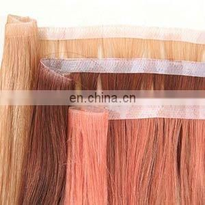 New looking wholesale price cheap tape hair extension virgin indian